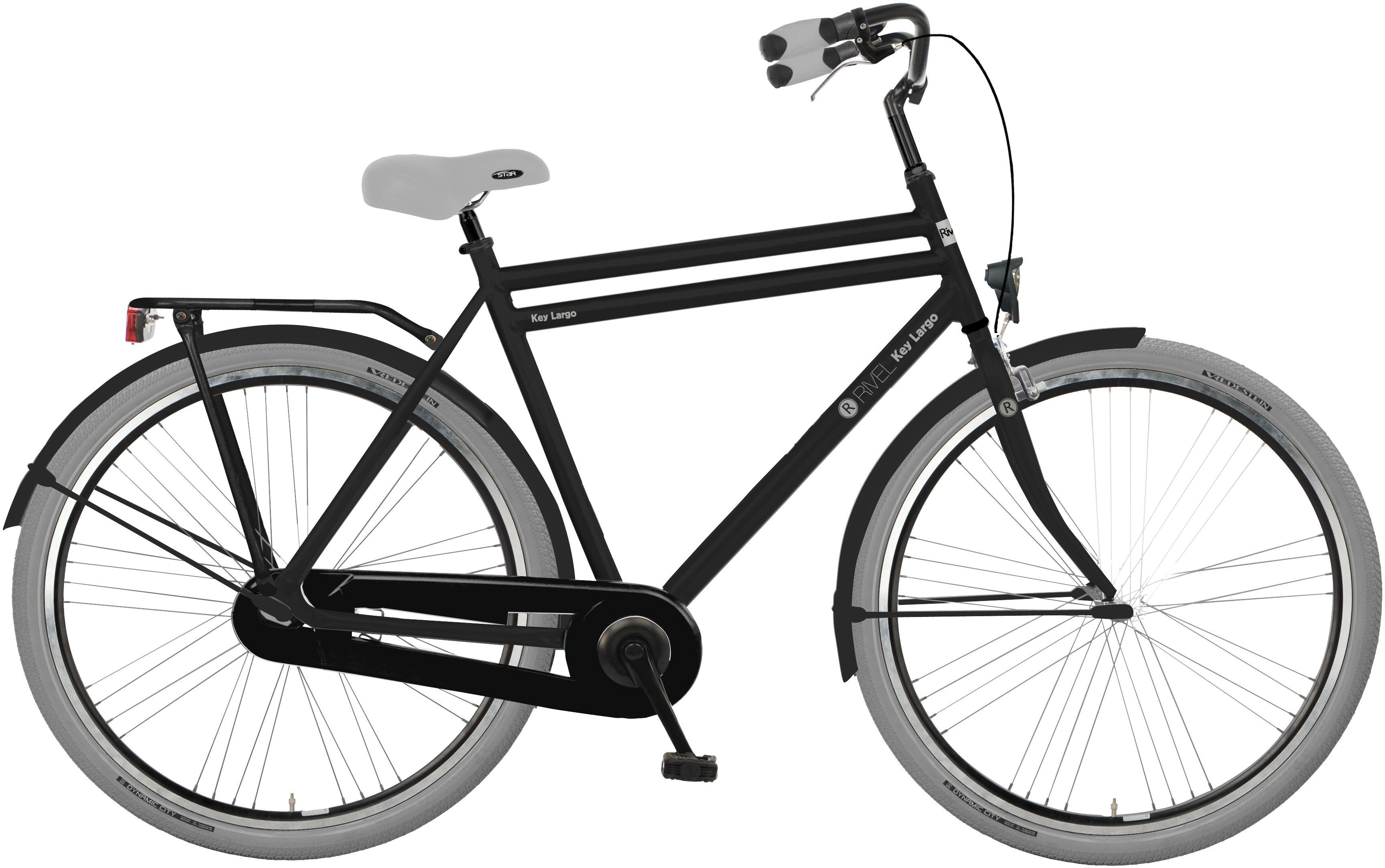 Rivel Herren Citybike, 28 Zoll, Singlespeed, Rücktritt, »Key Largo«