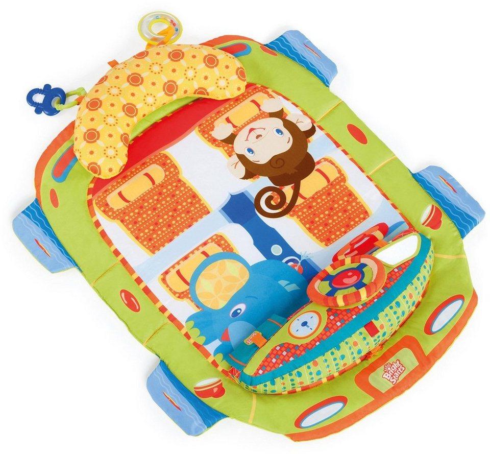 Kids II Krabbeldecke, »Tummy Cruiser Prop+Play Mat« in bunt