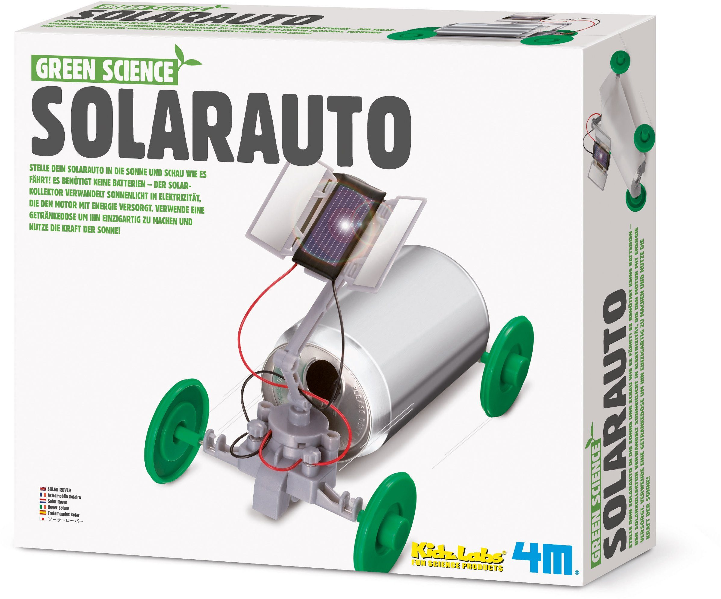 4M Experimentierset , »Green Science Solarauto«