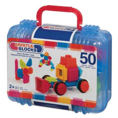 BRISTLE BLOCKS Spielbausteine »Bristle Blocks 50 Teile im Koffer«, (50 St)