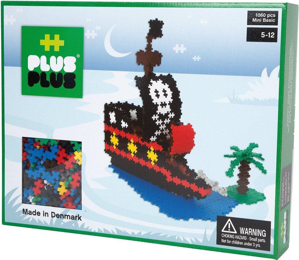 Plus - Plus Bausteine, »Mini Basic 1060 Piratenschiff«
