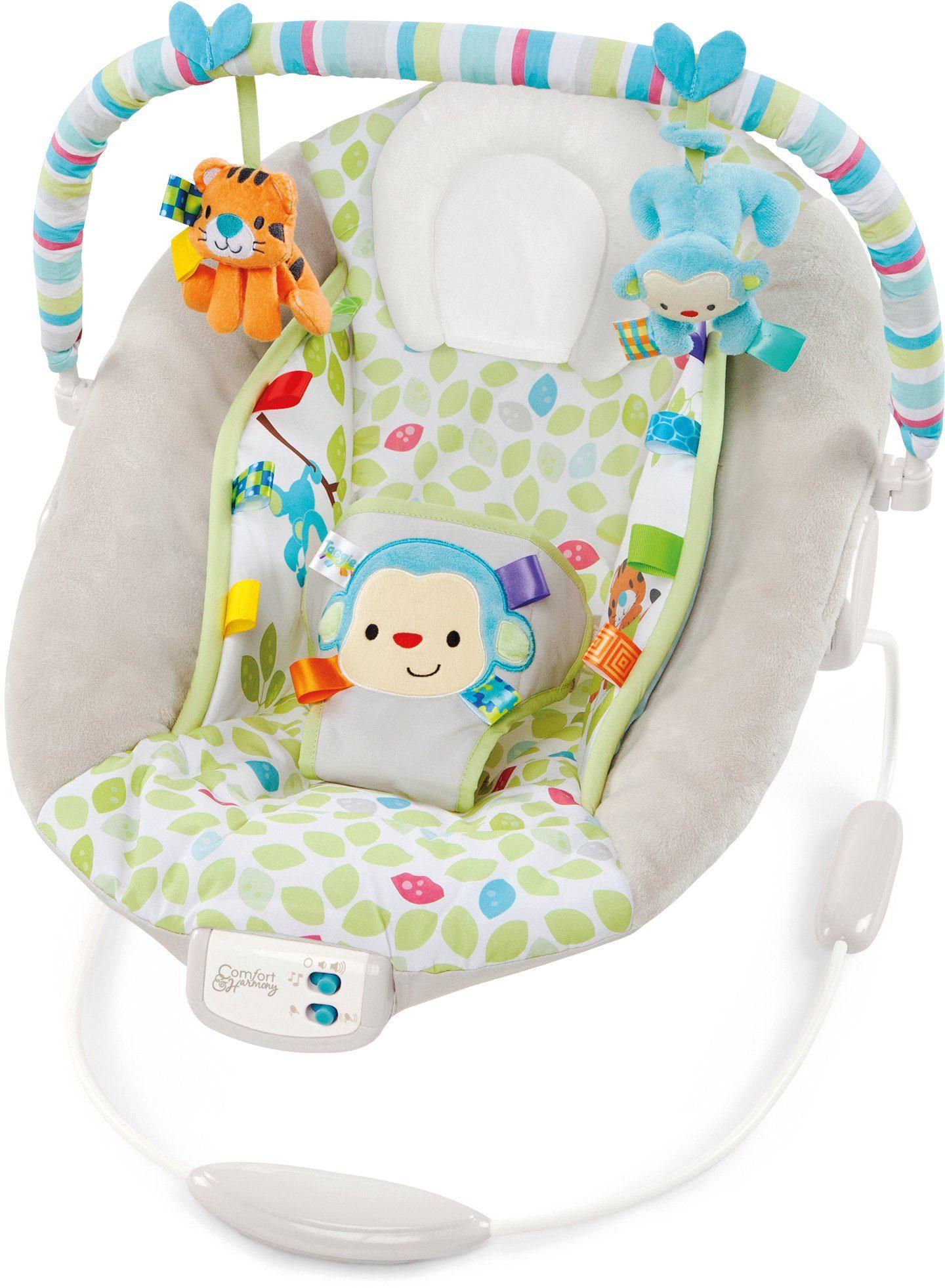 Kids II Babyschaukel, »Cradling Bouncer in Merry Monkeys«