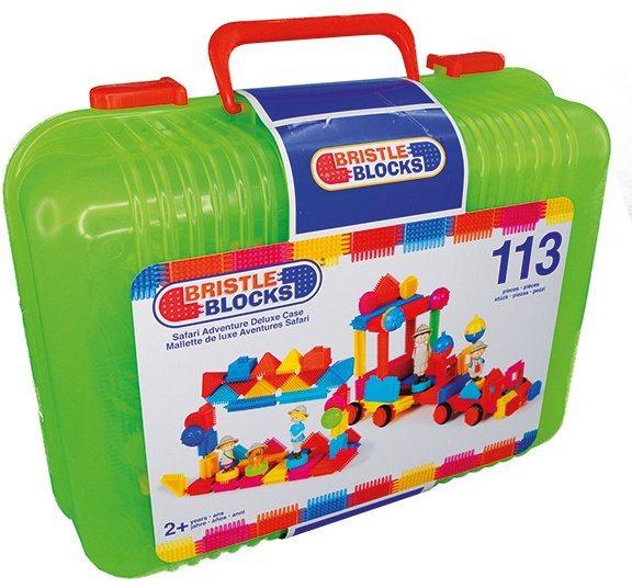 Bristle Blocks Bausteine, »113 Teile im Koffer«