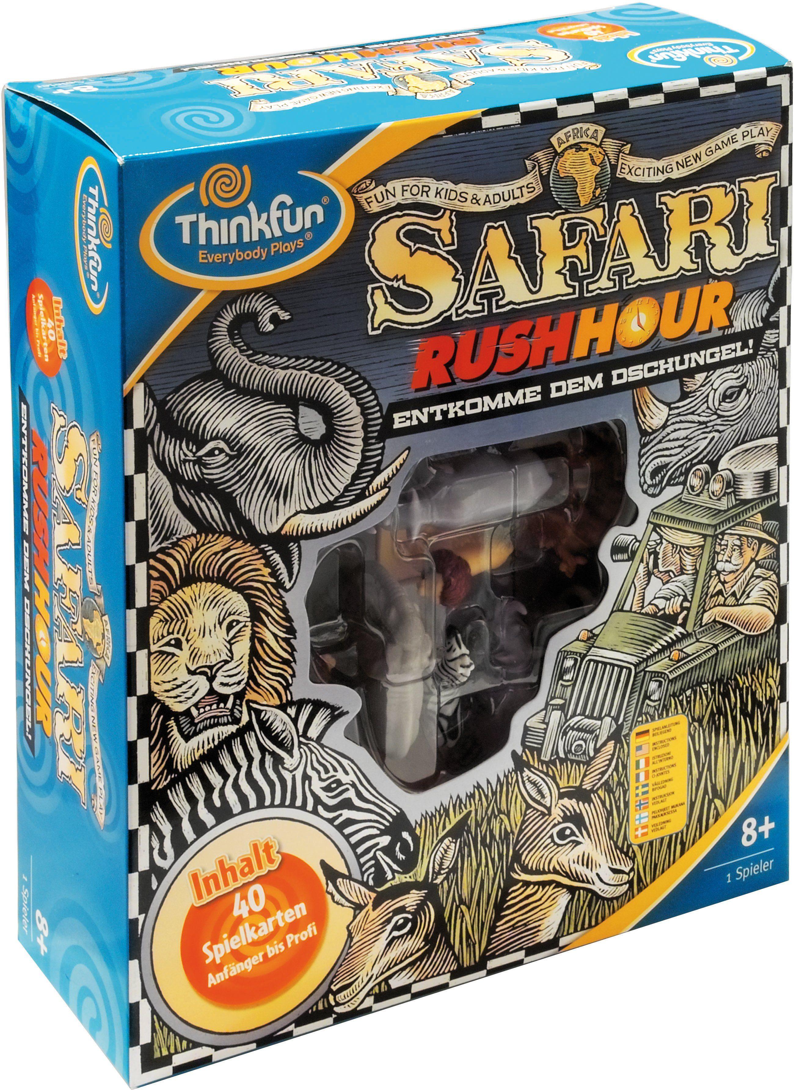 Thinkfun Geschicklichkeitsspiel, »Spiel Safari Rush Hour«