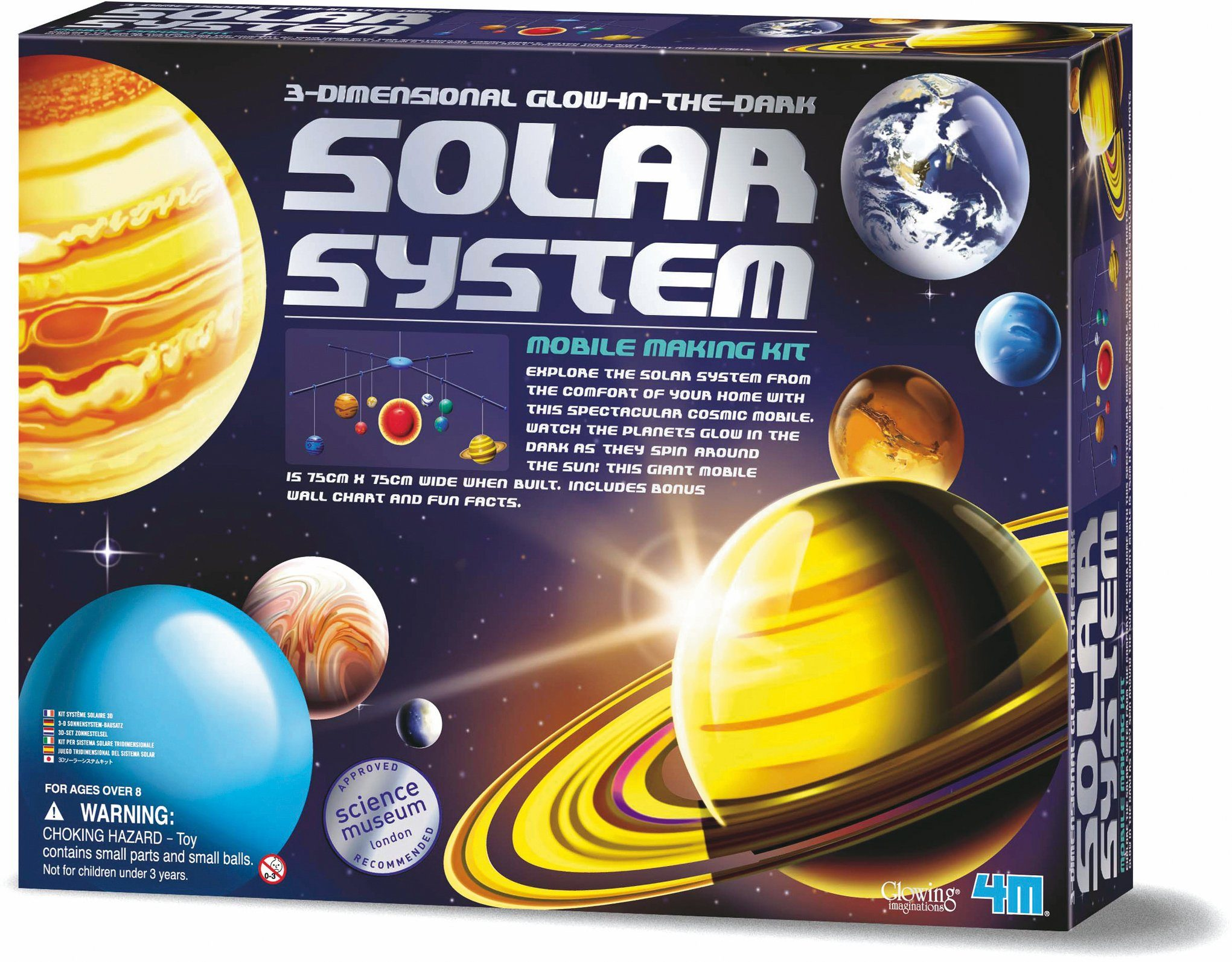 4M Experimentierset, »Solar System Mobile Making Kit«