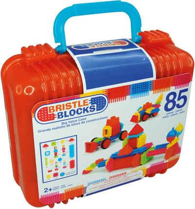 BRISTLE BLOCKS Spielbausteine »Bristle Blocks 85 Teile im Koffer«, (85 St)