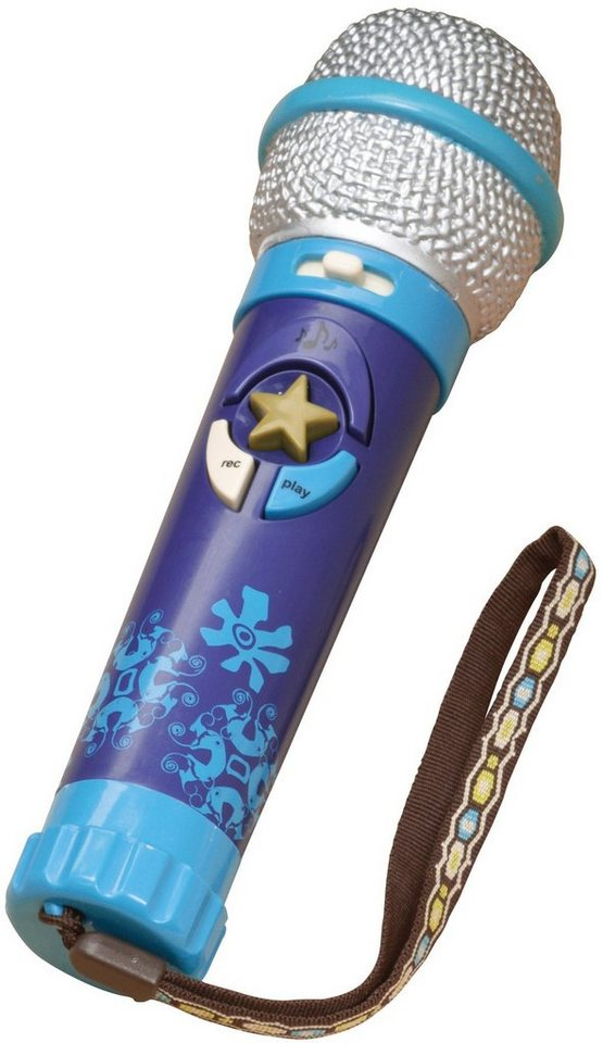 B.toys Mikrofon mit Aufnahmefunktion, »Okideoke- Navy« in blau