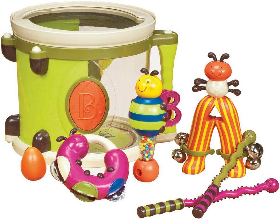 B.toys Musikset, »Parum Pum Pum Lime« in grün