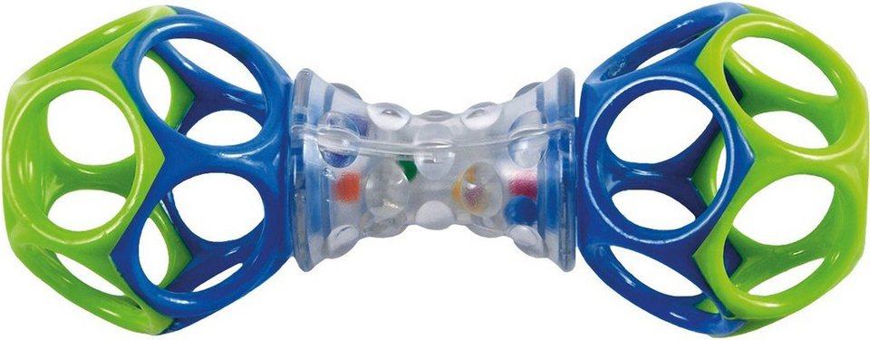 Kids II Greifspielzeug mit Noppengriff, »Oball Shaker« in grün