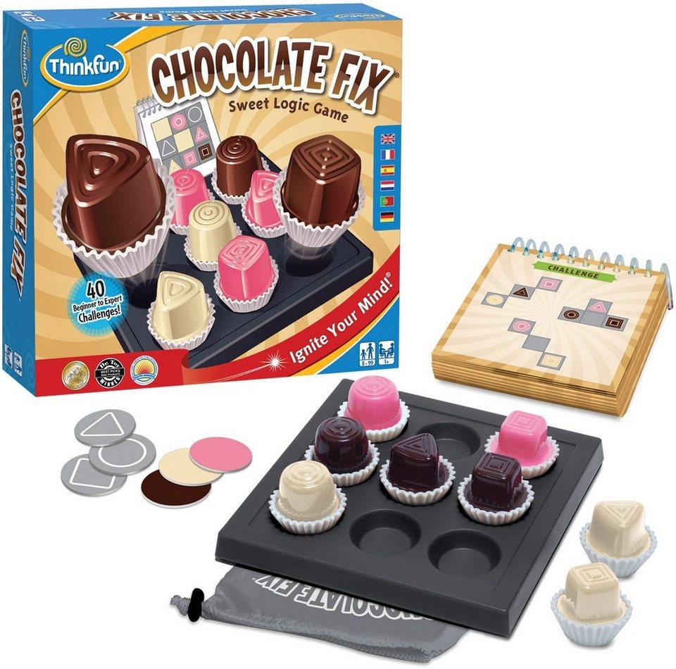 Thinkfun Logikspiel, »Spiel Chocolate Fix«