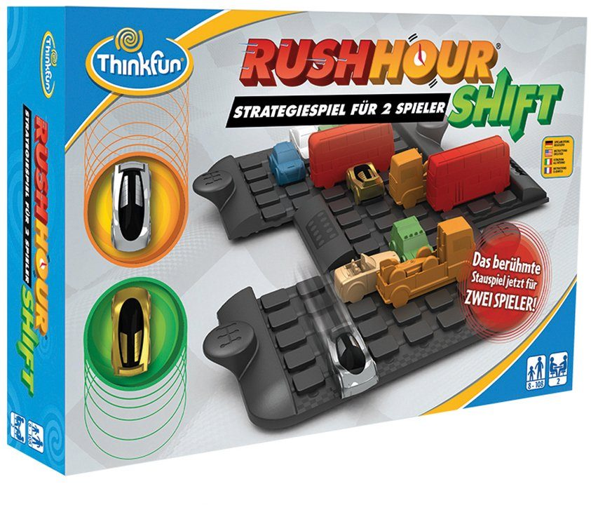 Thinkfun Logikspiel, »Rush Hour Shift«
