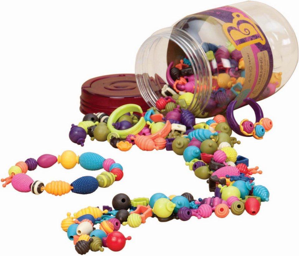 B.toys Schmuck Perlen Bastelset 275tlg., »B.eauty Pops«