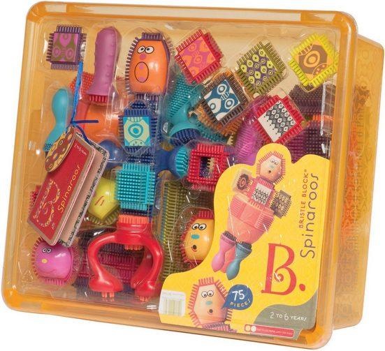 B. Spielbausteine »Bristle Block Spinaroos«, (75 St)
