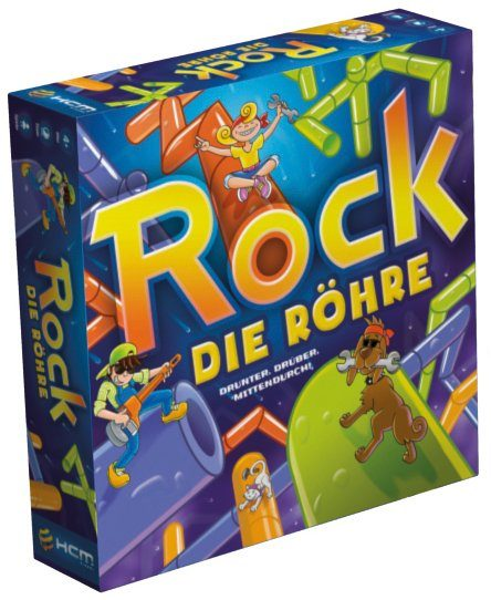 HCM Kinzel Strategiespiel, »Rock die Röhre«