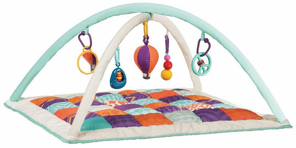 krabbeldecke mit spielbogen baby activity gym mat. Black Bedroom Furniture Sets. Home Design Ideas