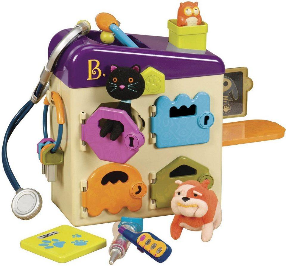 B.toys Plüschtierklinik, »Pet Vet« in beige