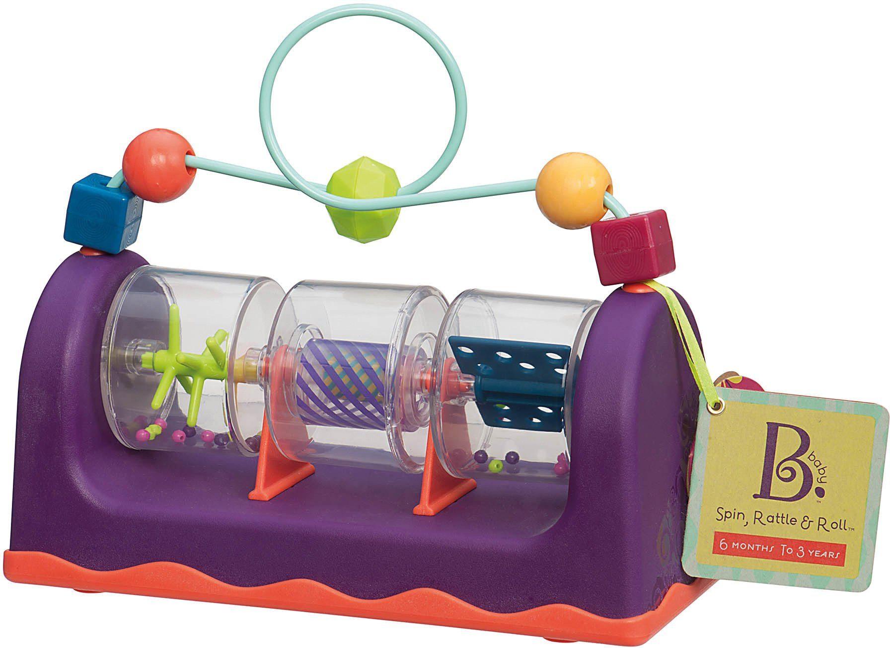 B.toys Motorikschleife mit Geräuschen, »Spin + Roll«