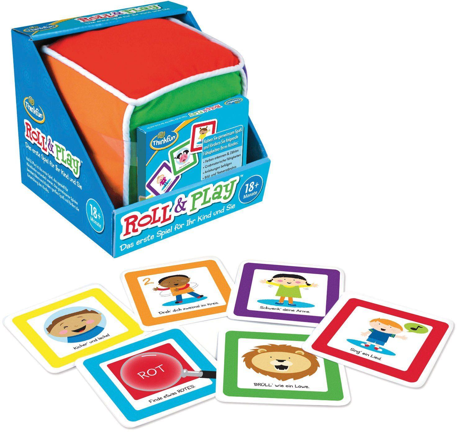 Thinkfun Lernspiel, »Spiel Roll + Play«