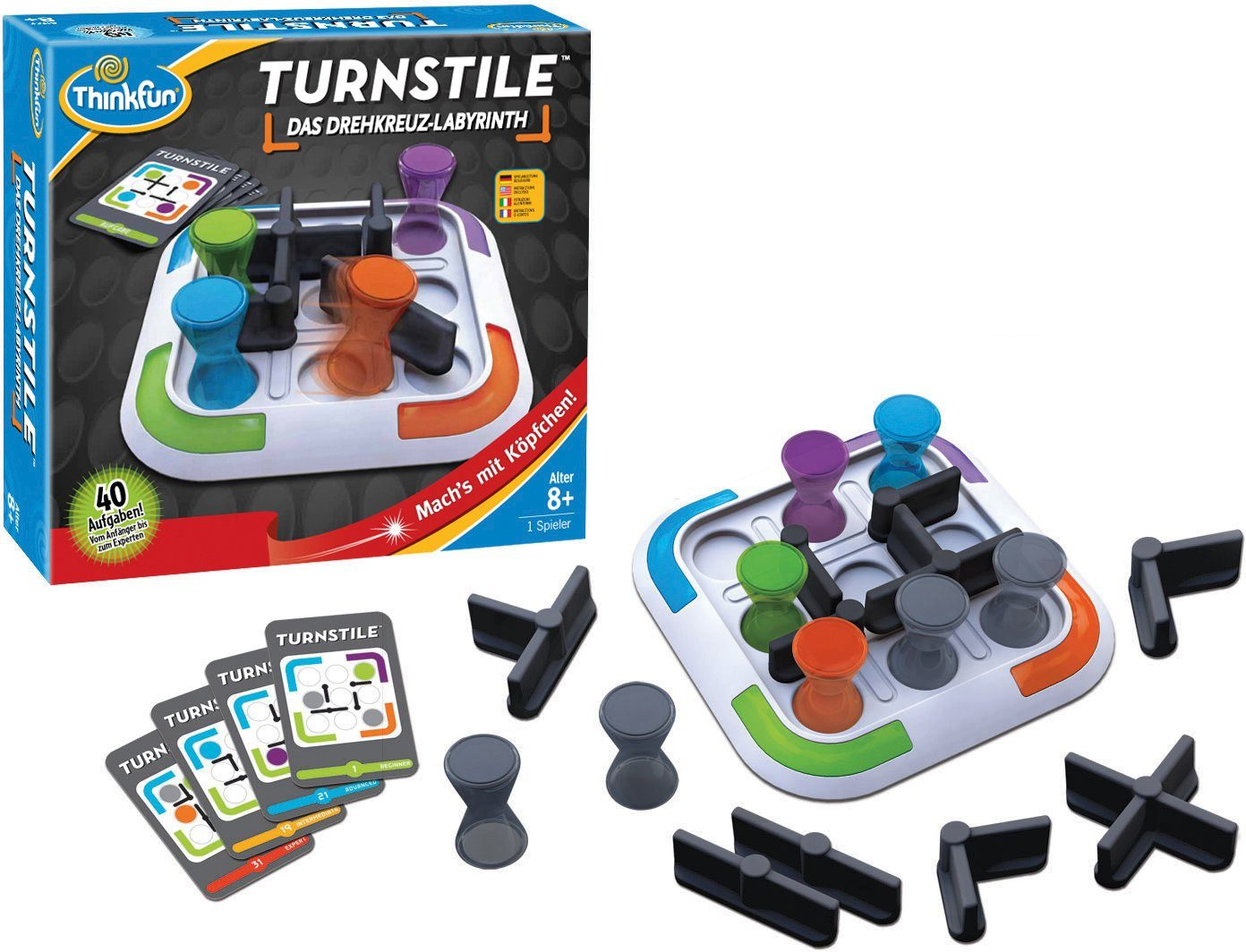 Thinkfun Logikspiel, »Turnstile«