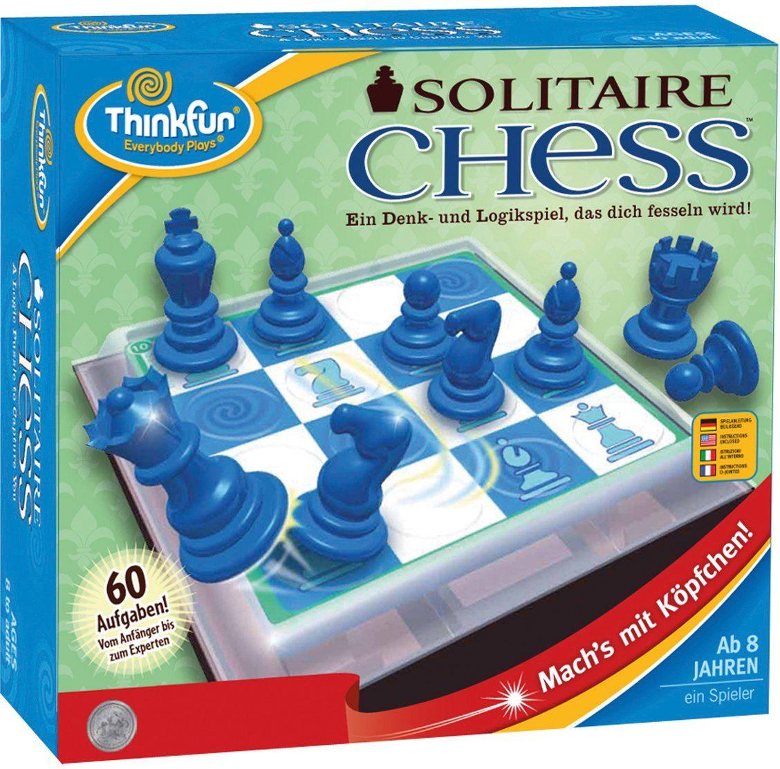 Thinkfun Logikspiel, »Solitär Schach«