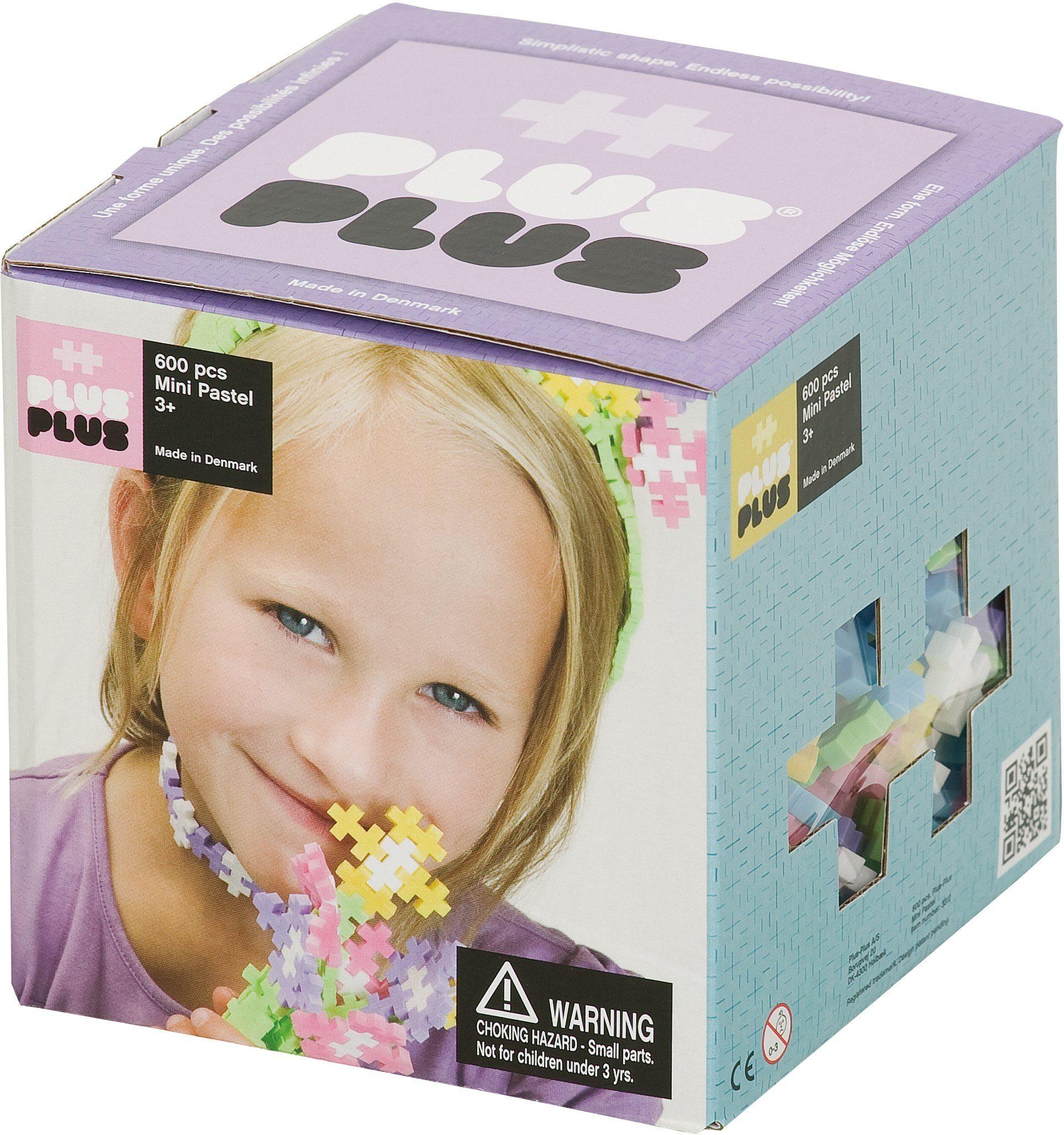 Plus - Plus Bausteine, »Mini Pastel 600«