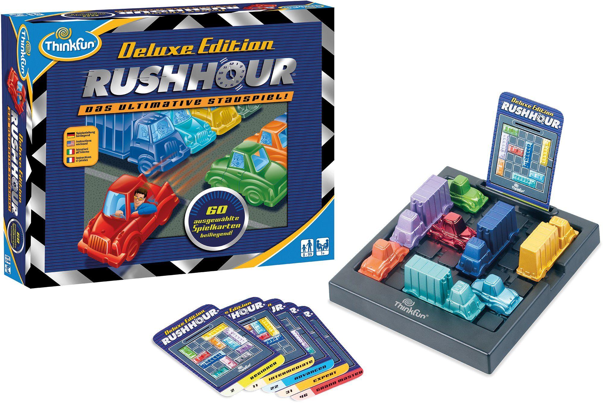 Thinkfun Logikspiel, »Rush Hour deluxe«