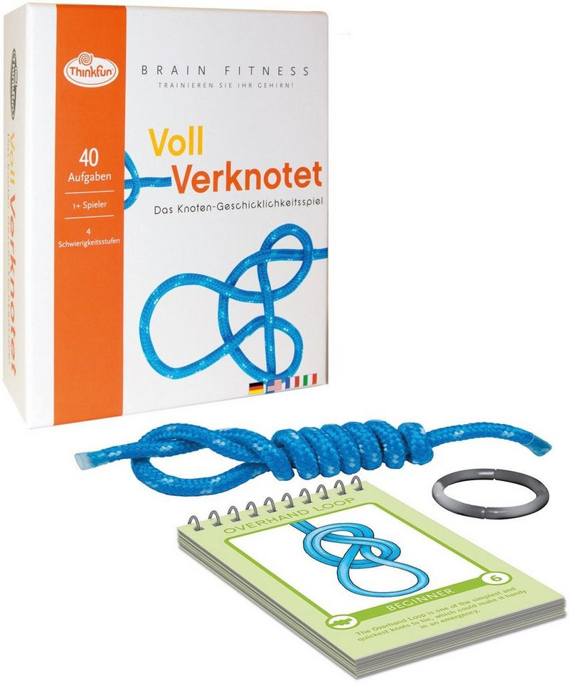 Thinkfun Logikspiel, »BrainFit Verknotet«