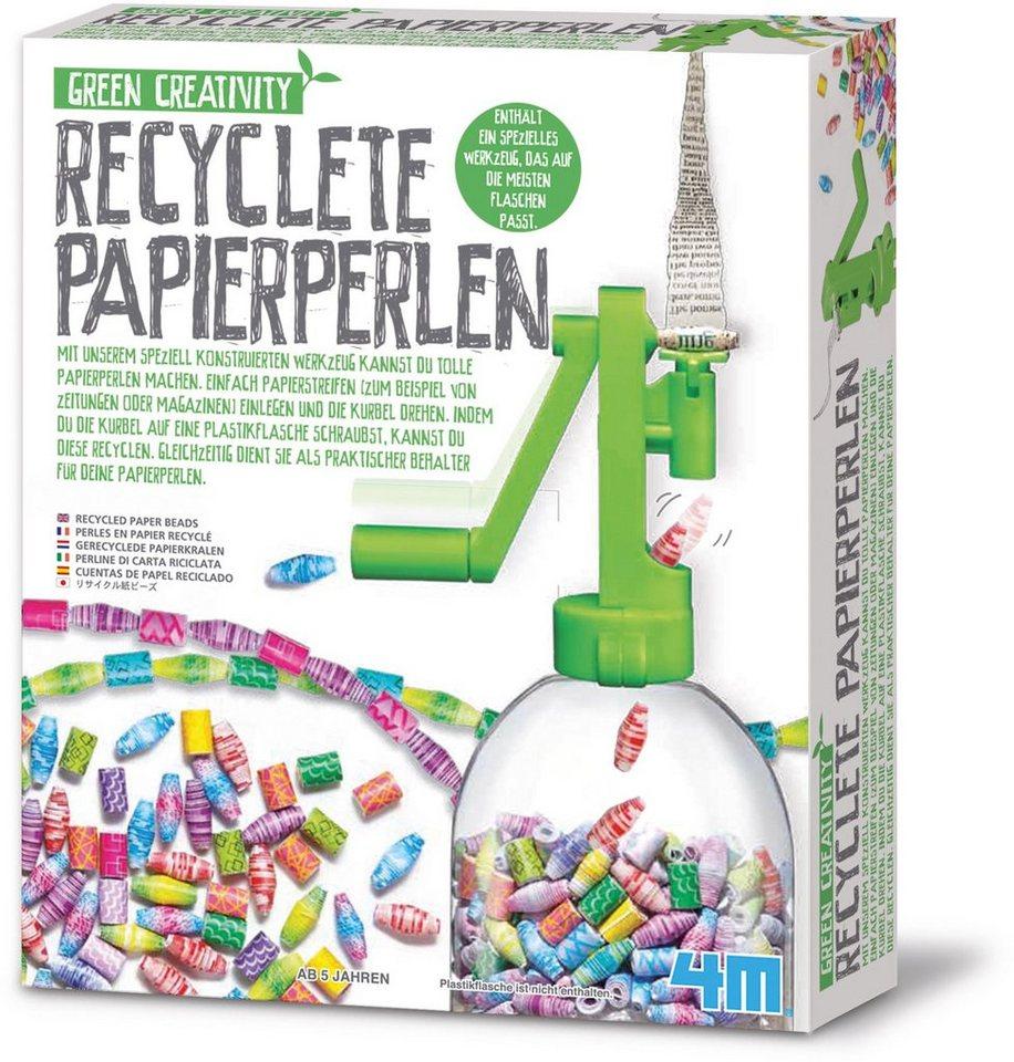 4M Bastelset, »Recyclete Papierperlen«