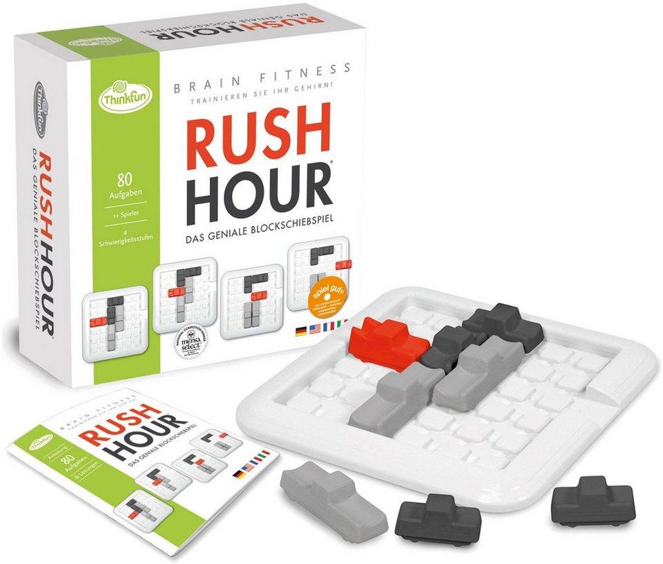 Thinkfun Logikspiel, »BrainFit Rush Hour«