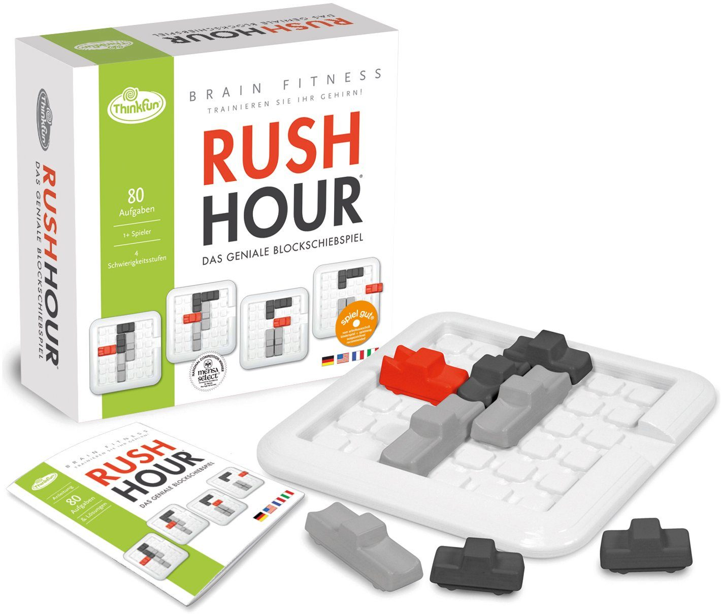 Thinkfun Logikspiel, »BrainFit Rush Hour«