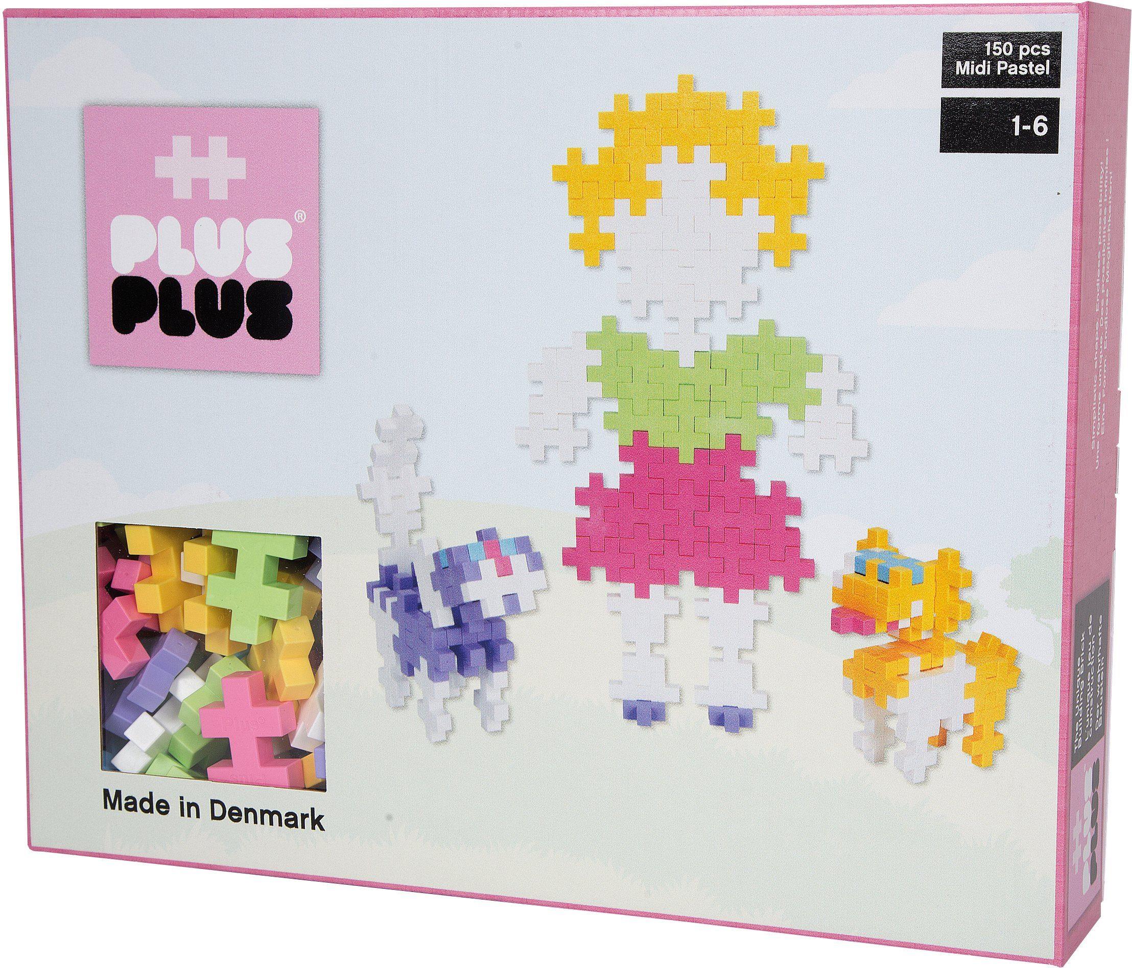 Plus - Plus, Bausteine, »Midi Pastel 150«