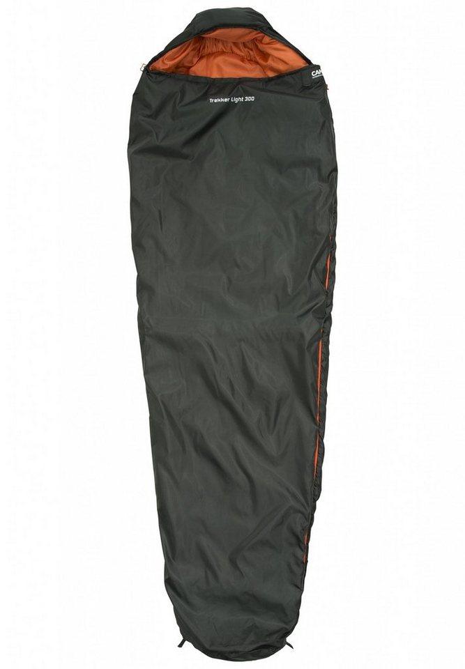 CAMPZ Schlafsack »Trekker light 300 Schlafsack« in grau
