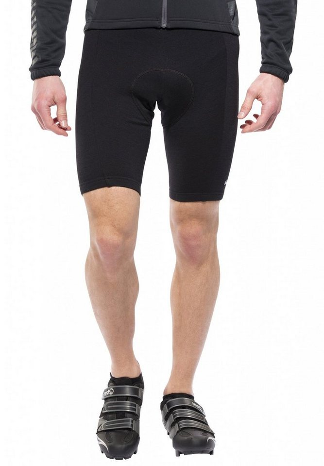 De Marchi Radhose »Merino Wool Short Men black« in schwarz