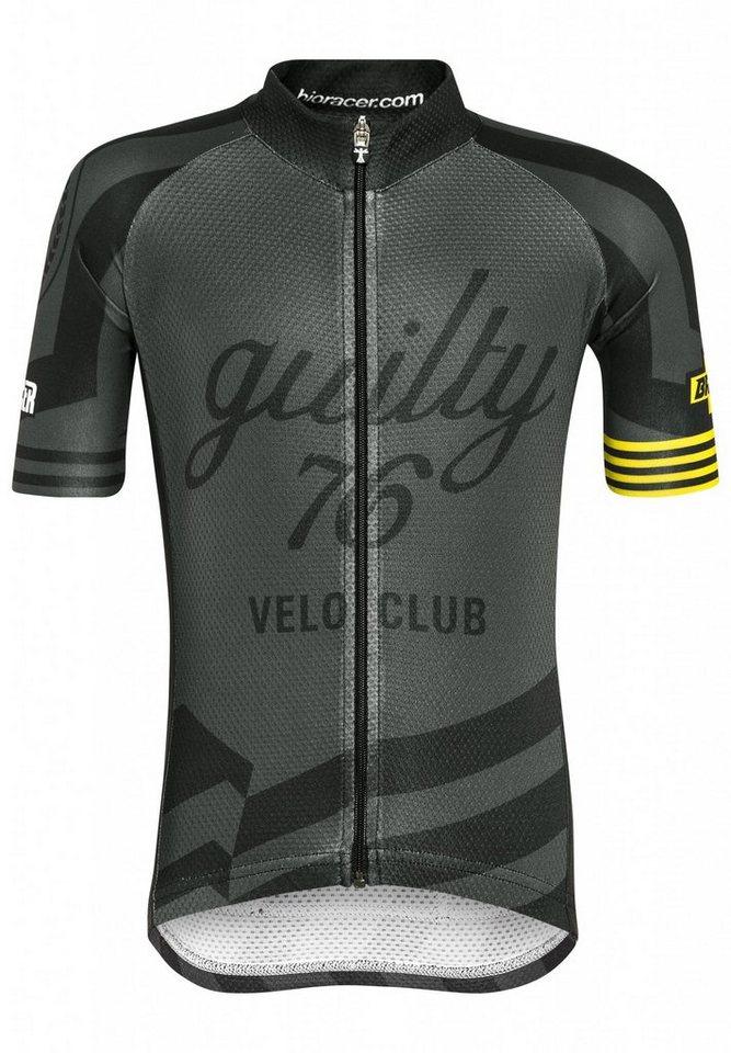 guilty 76 racing Trikot »Velo Club Pro Race Jersey Kids« in schwarz