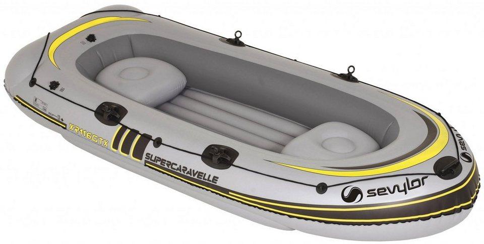 Sevylor Schlauchboot »Supercaravelle XR116GTX Schlauchboot« in grau