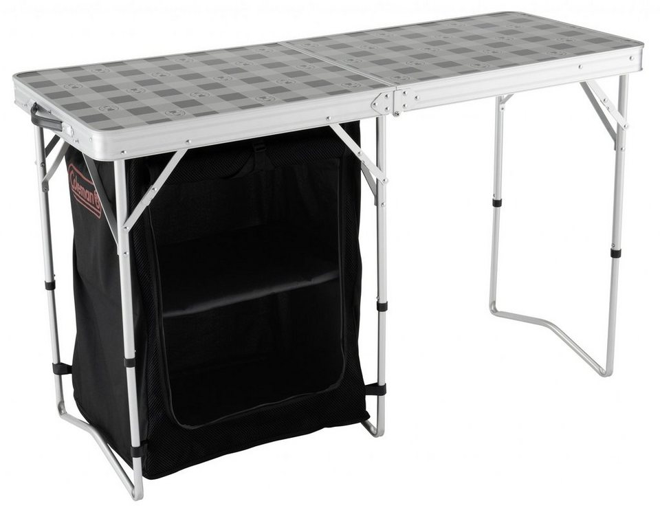 Coleman Camping Tisch »2 in 1 Camping Table« in grau