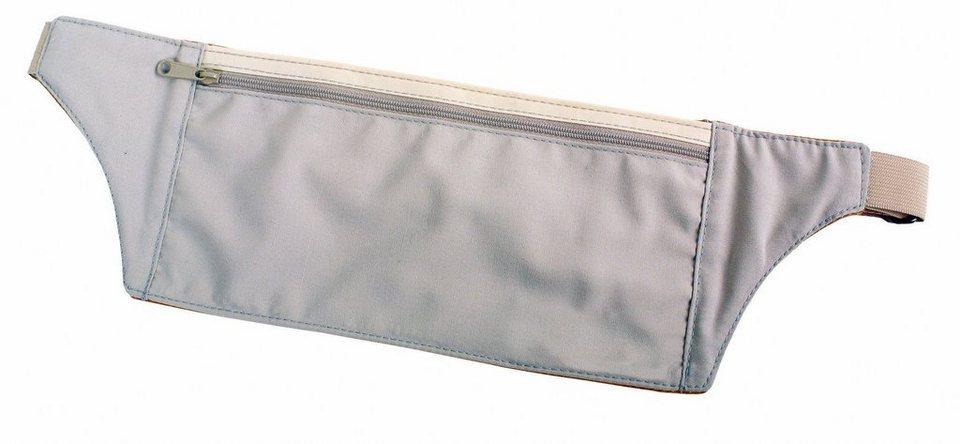 Basic Nature Wertsachenaufbewahrung »Undercover Travel Hüfttasche Seide« in beige