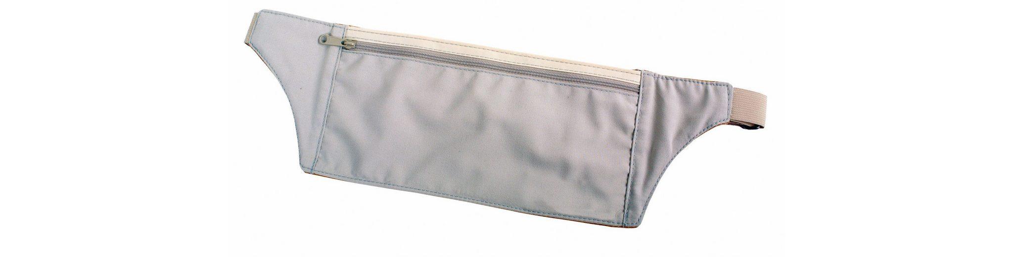 Basic Nature Wertsachenaufbewahrung »Undercover Travel Hüfttasche Seide«