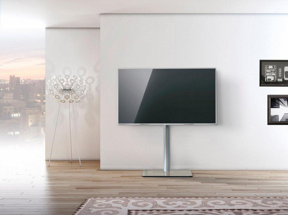 just-racks TV-Floorstand »JRLTV600«, VESA 200x200 bis 400x400 in Klarglas