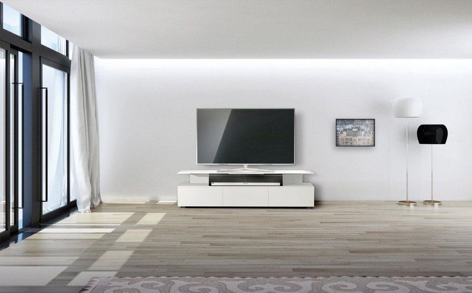 Spectral Tv Board Just Racks Jrm1650 Mit Schwebender Glasplatte Breite 165 Cm Online Kaufen Otto