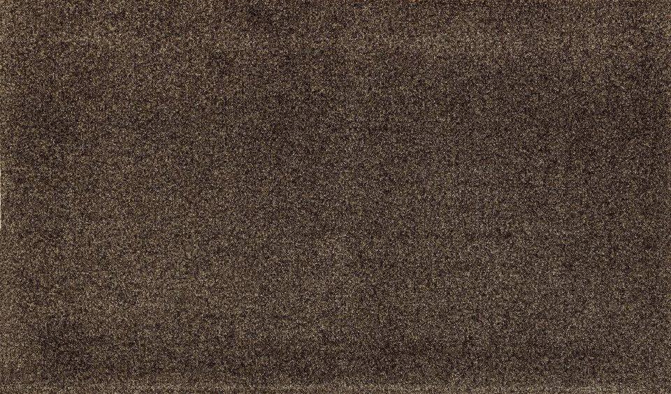 Fußmatte »PURE«, WASH + DRY BY KLEEN-TEX, rechteckig, Höhe 7 mm in braun
