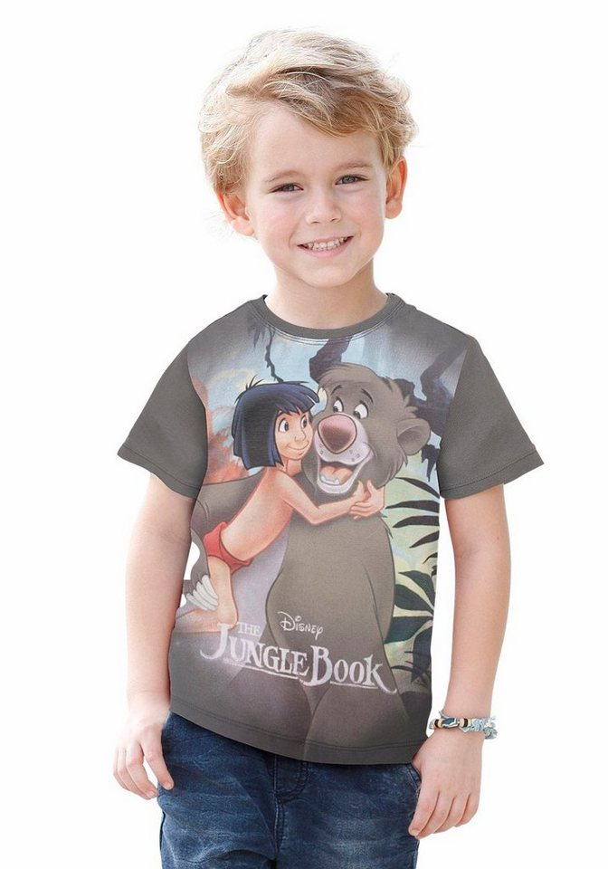 "Disney T-Shirt ""Das Dschungel Buch"" in anthrazit"
