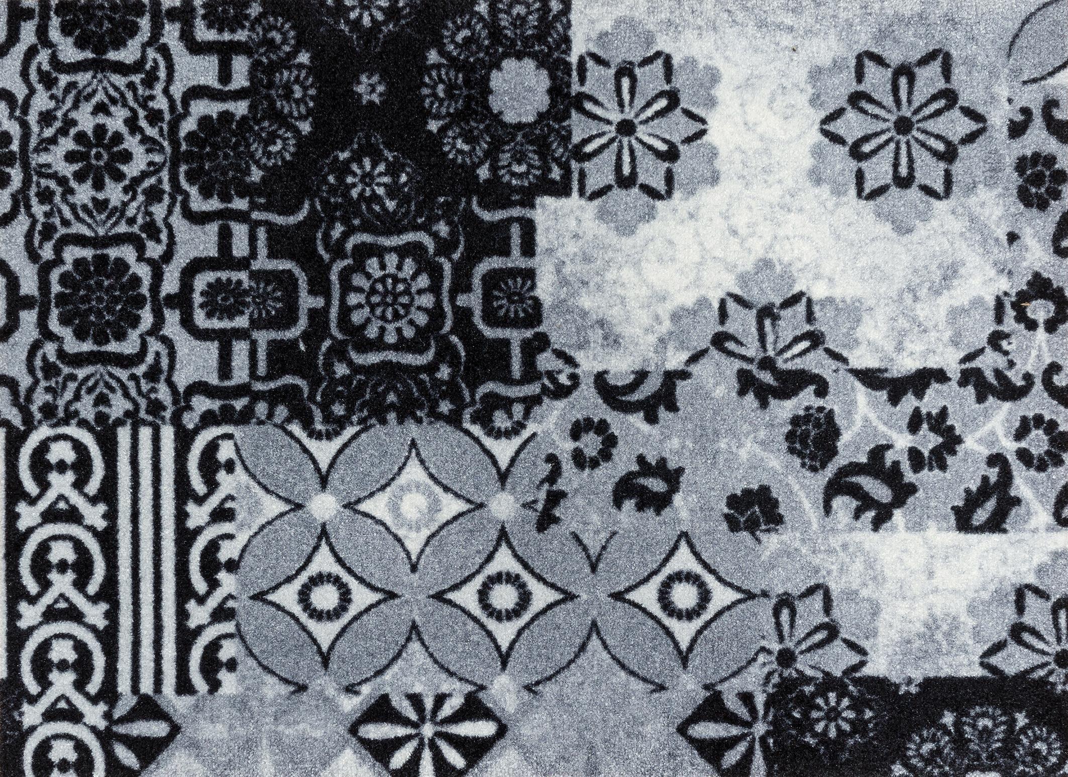 Fußmatte »Medina«, wash+dry by Kleen-Tex, rechteckig, Höhe 9 mm