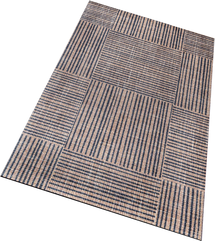 Läufer »Canvas«, wash+dry by Kleen-Tex, rechteckig, Höhe 9 mm, trocknergeeignet