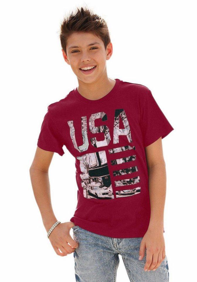 "Arizona T-Shirt ""USA"" in rot"