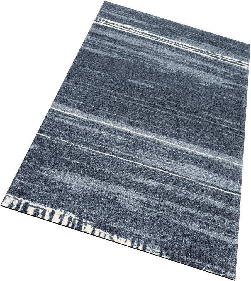 Läufer, wash+dry by Kleen-Tex, »Abadan«, rutschhemmend beschichtet in grau