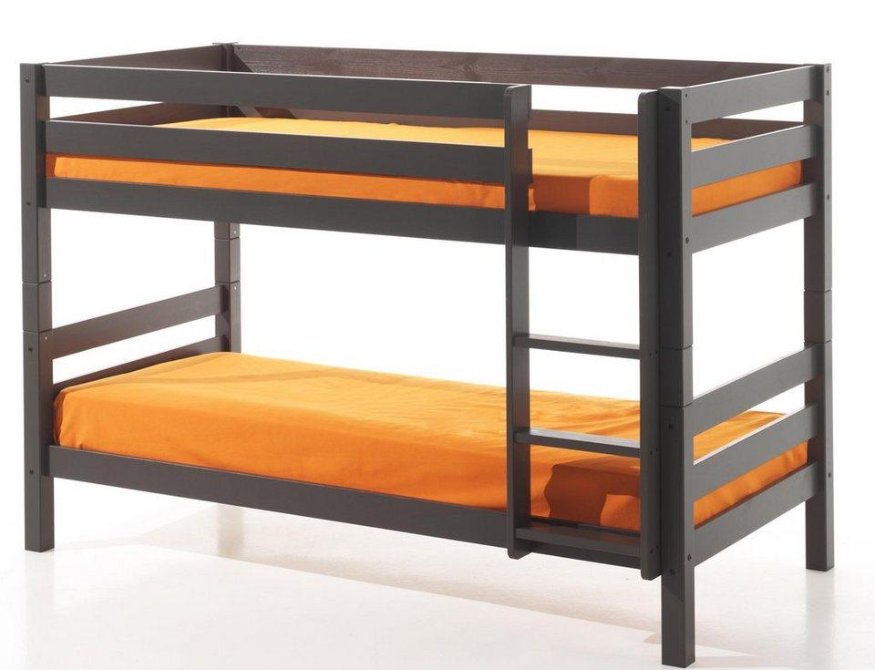 Vipack Furniture Einzel-/Etagenbett »Pino«, optional mit Bettschublade