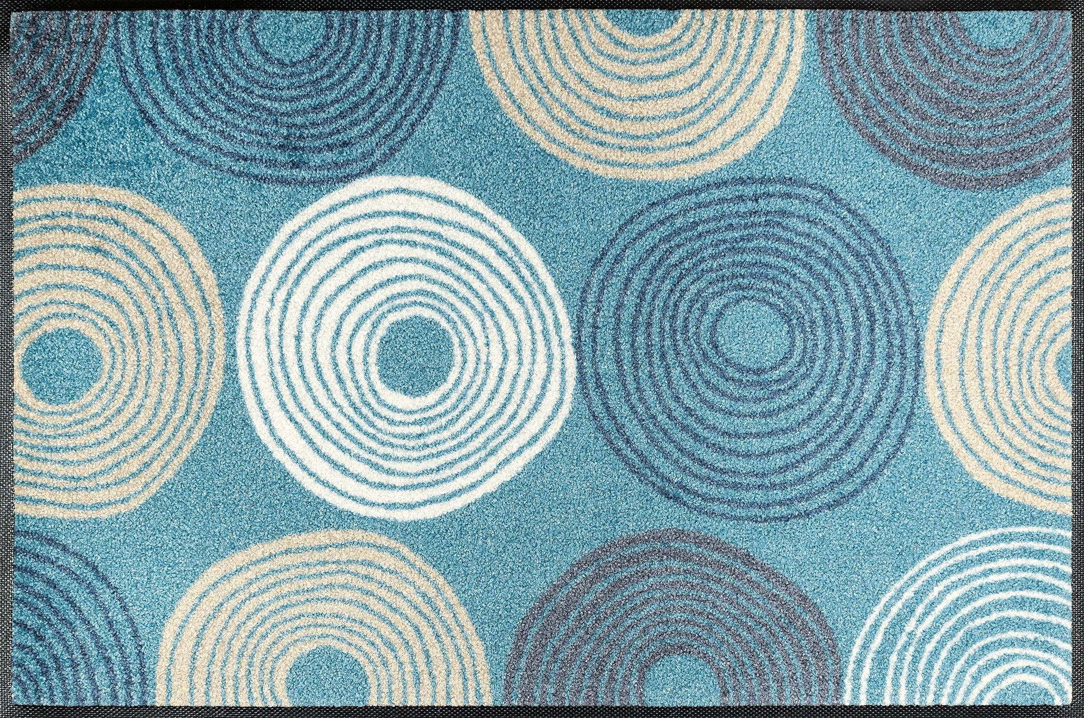 Fußmatte »Cyclone«, wash+dry by Kleen-Tex, rechteckig, Höhe 7 mm