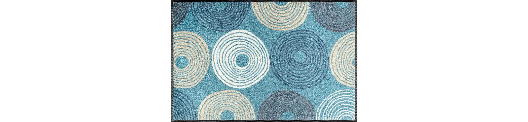 Fußmatte, wash+dry by Kleen-Tex, »Cyclone«, rutschhemmend beschichtet