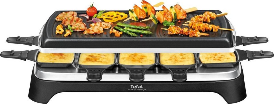 tefal raclette re4588 10 raclettepf nnchen 1350 w online kaufen otto. Black Bedroom Furniture Sets. Home Design Ideas